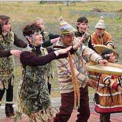 Народный промысел алеутских племен